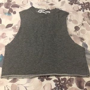 The Laundry Room French Terry Crop Tank